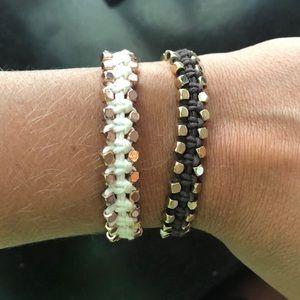 Two Fossil Bracelets